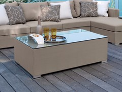 - Rectangular textilene coffee table CHIC | Textilene coffee table - Talenti