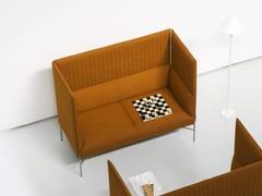 - Divano modulare in tessuto con schienale alto per contract CHILL-OUT HIGH | Divano con schienale alto - Tacchini Italia Forniture