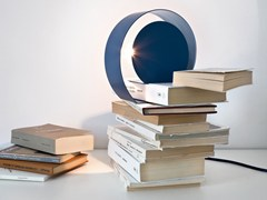 - Metal table lamp CHIOCCIOLA - MEME DESIGN