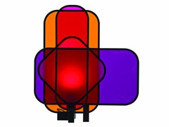 Lampada da tavolo a LEDCHROMA - ROCHE BOBOIS