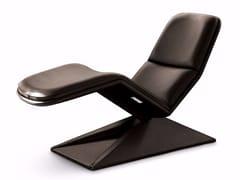 Chaise longue in pelleCIAO NICOLA - MASCHERONI