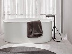 Vasca da bagno centro stanza in Livingtec®CIBELE - CERAMICA CIELO