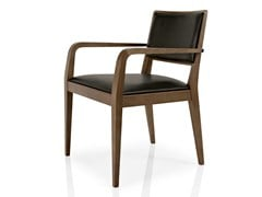 - Leather chair with armrests CIBELLE | Chair with armrests - J. MOREIRA DA SILVA & FILHOS, SA