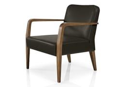 - Leather easy chair with armrests CIBELLE | Easy chair - J. MOREIRA DA SILVA & FILHOS, SA