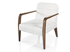 - Leather easy chair with armrests CIBELLE | Easy chair with armrests - J. MOREIRA DA SILVA & FILHOS, SA