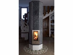- Wood-burning natural stone stove CIR3 | Natural stone stove - KarniaFire