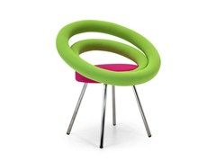 - Upholstered fabric easy chair CIRCLE | Easy chair - Adrenalina