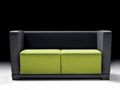 - 2 seater fabric sofa CIRCUIT | 2 seater sofa - D.M.