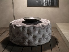 - Tufted fabric pouf CIRCUS | Tufted pouf - Bolzan Letti