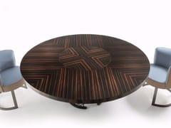 - Tavolo rotondo in legno CLAIRMONT | Tavolo rotondo - Fratelli Longhi