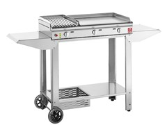 Barbecue a gas in acciaio inox CLAS - LEVIGMATIC
