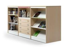 Libreria ufficio modulare in alluminio e legnoCLASS - ACTIU