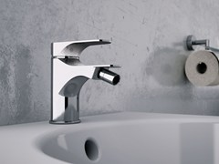 - Single handle bidet mixer without waste CLASS LINE | Bidet mixer without waste - Remer Rubinetterie