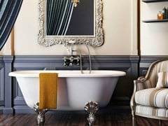 - Oval bathtub on legs CLASSIC 1500 - Polo