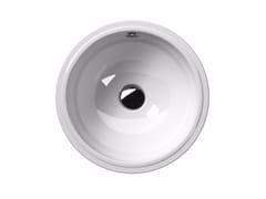 - Undermount round washbasin CLASSIC 40/U | Round washbasin - GSI ceramica