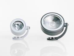 Faretto per esterno a LED orientabile in alluminioCLOCK | Faretto per esterno - GOCCIA ILLUMINAZIONE