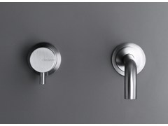 - 2 hole washbasin mixer COCOON MONO SET 01 - COCOON