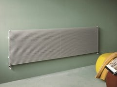 - Horizontal wall-mounted decorative radiator COLOR_X | Horizontal decorative radiator - Tubes Radiatori