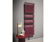 - Vertical carbon steel towel warmer COLOR_X | Towel warmer - Tubes Radiatori