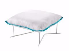 - Upholstered fabric pouf COLORADO | Pouf - Varaschin