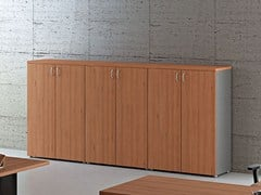 - Tall modular office storage unit with hinged doors COMPACT C392 - Arcadia Componibili - Gruppo Penta