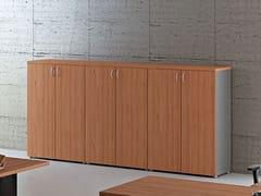 - Mobile ufficio alto modulare con ante a battente COMPACT C392 - Arcadia Componibili - Gruppo Penta