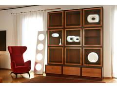 - Wooden bookcase MODULO ZERO | Bookcase - Morelato