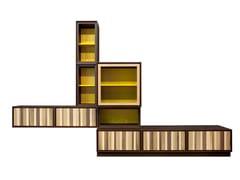 - Modular wooden storage wall MODULO ZERO | Modular storage wall - Morelato