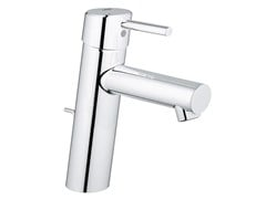 - Countertop single handle washbasin mixer with temperature limiter CONCETTO SIZE M | Washbasin mixer with pop up waste - Grohe
