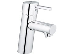 - Countertop single handle washbasin mixer with temperature limiter CONCETTO SIZE S | Washbasin mixer without waste - Grohe