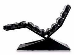 Chaise longue in pelleCONCORDE - MASCHERONI