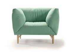 - Upholstered armchair with armrests COPLA | Armchair - SANCAL