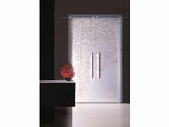 - Decorated glass sliding door CORALLO - Casali