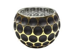 - Stained glass candle holder CORDOBA B&G DOTS - KARE-DESIGN