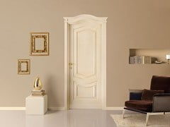 - Lacquered solid wood door CORNICI - LEGNOFORM