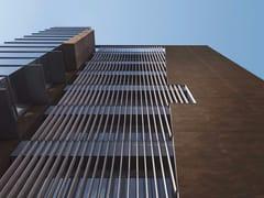 - Porcelain stoneware Panel for facade CORTEN | Panel for facade - FMG Fabbrica Marmi e Graniti