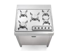 Cucina / piano cottura in acciaio inoxCOTTURA 70 | Cucina - ALPES-INOX