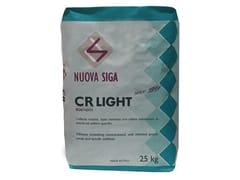 Collante e rasante in polvere alleggerito con perliteCR LIGHT - NUOVA SIGA