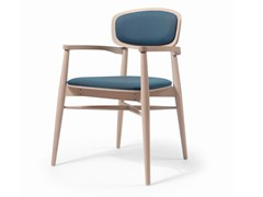 - Wooden chair with armrests CRAFT EST CB - Fenabel - The heart of seating
