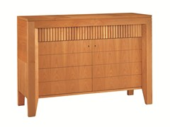 - Wooden sideboard with doors SCACCHI | Wooden sideboard - Morelato