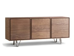- Wooden sideboard with drawers ZERO | Sideboard with drawers - Morelato