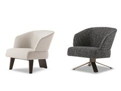 - Easy chair CREED SMALL - Minotti