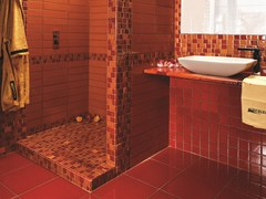 Mosaico in ceramicaCRISTALLI | Mosaico - ACQUARIO DUE CERAMICHE