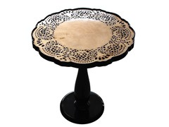 - Wooden side table CROCHET | Side table - Malabar - Artistic Furniture