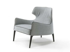- Bergere fabric armchair with armrests CROSBY | Fabric armchair - FRIGERIO POLTRONE E DIVANI