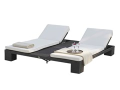 - Lettino da giardino matrimoniale reclinabile CUATRO 2933 - SKYLINE design