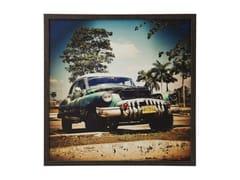 - Photographic print CUBA RALLYE 76x76 - KARE-DESIGN