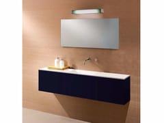 Mobile lavabo singolo con cassettiCUBE | Mobile lavabo laccato - CARMENTA