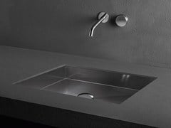- Undermount stainless steel washbasin CUBE | Undermount washbasin - MAKRO