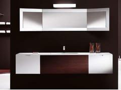 Mobile lavabo in legno con cassettiCUBE | Mobile lavabo sospeso - CARMENTA